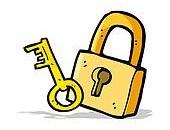 rysunek-kłódka-i-klucz-clip-art__k20799147